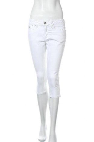 Дамски дънки Tom Tailor, Размер S, Цвят Бял, 98% памук, 2% еластан, Цена 13,23лв.