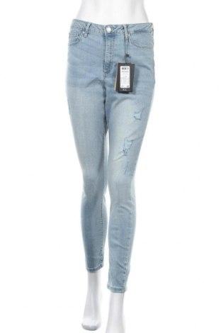 Дамски дънки Vero Moda, Размер L, Цвят Син, 85% памук, 13% полиестер, 2% еластан, Цена 32,45лв.