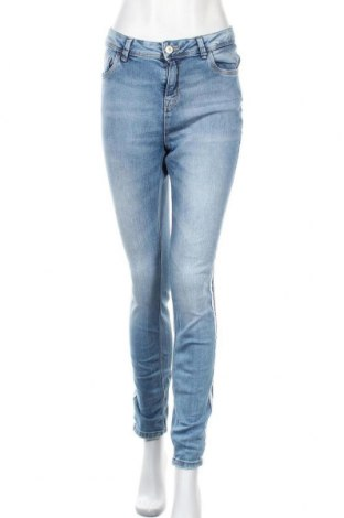 Дамски дънки Yessica, Размер M, Цвят Син, 98% памук, 2% еластан, Цена 22,68лв.