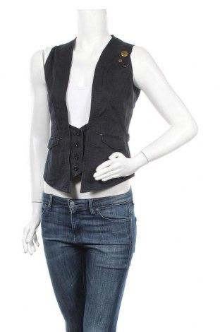 Дамски елек Outfit, Размер S, Цвят Син, 100% памук, Цена 9,92лв.