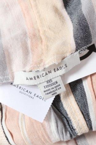Дамски гащеризон American Eagle, Размер XS, Цвят Многоцветен, 59% памук, 41% вискоза, Цена 32,45лв.