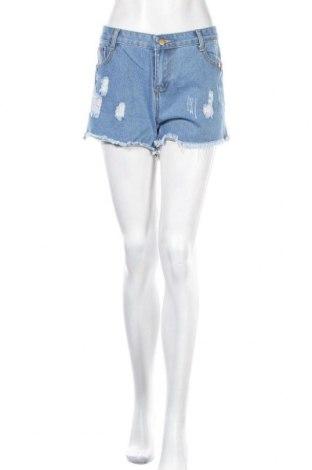 Γυναικείο κοντό παντελόνι, Μέγεθος M, Χρώμα Μπλέ, Τιμή 11,39€