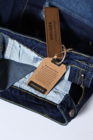 Γυναικείο κοντό παντελόνι, Μέγεθος M, Χρώμα Μπλέ, 72% βαμβάκι, 28% ελαστάνη, Τιμή 15,80€
