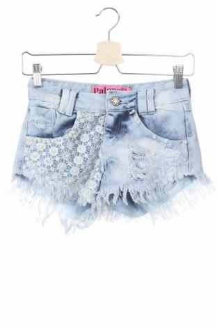 Γυναικείο κοντό παντελόνι, Μέγεθος XS, Χρώμα Μπλέ, 58% βαμβάκι, 42% πολυεστέρας, Τιμή 9,87€