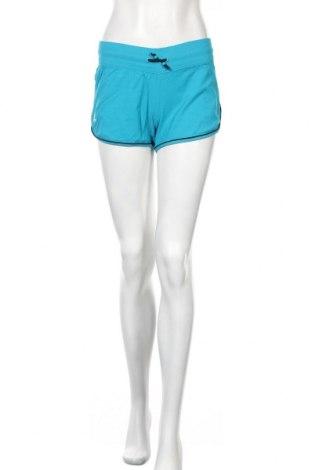 Дамски къс панталон Adidas, Размер S, Цвят Син, 95% полиамид, 5% еластан, Цена 20,25лв.