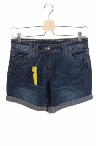 Γυναικείο κοντό παντελόνι Blue Motion, Μέγεθος XS, Χρώμα Μπλέ, 98% βαμβάκι, 2% ελαστάνη, Τιμή 15,20€