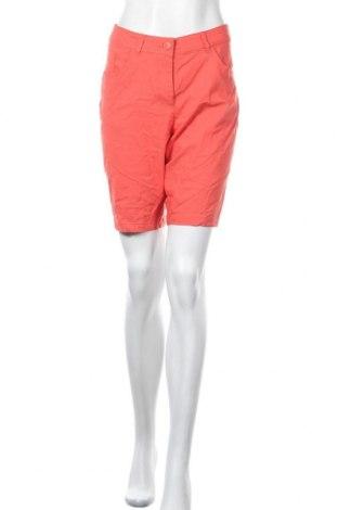 Γυναικείο κοντό παντελόνι Charles Vogele, Μέγεθος L, Χρώμα Πορτοκαλί, 70% βισκόζη, 26% πολυαμίδη, 4% ελαστάνη, Τιμή 12,34€