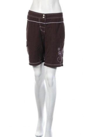 Дамски къс панталон Chiemsee, Размер M, Цвят Кафяв, Полиестер, Цена 4,20лв.