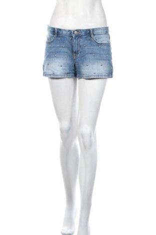 Γυναικείο κοντό παντελόνι Clockhouse, Μέγεθος M, Χρώμα Μπλέ, 99% βαμβάκι, 1% ελαστάνη, Τιμή 8,77€