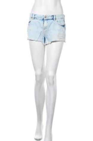 Γυναικείο κοντό παντελόνι Clockhouse, Μέγεθος S, Χρώμα Μπλέ, Βαμβάκι, Τιμή 8,28€