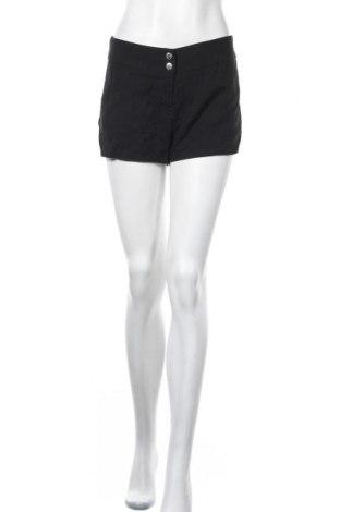 Дамски къс панталон Crazy World, Размер L, Цвят Черен, 64% памук, 31% полиамид, 5% еластан, Цена 14,28лв.