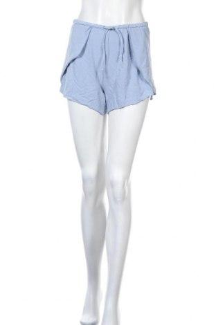 Γυναικείο κοντό παντελόνι Double Agent, Μέγεθος M, Χρώμα Μπλέ, Βισκόζη, Τιμή 10,39€