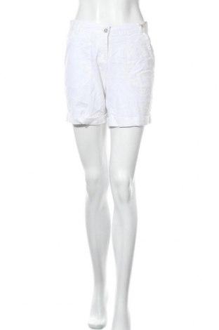 Γυναικείο κοντό παντελόνι Esmara, Μέγεθος S, Χρώμα Λευκό, 52% λινό, 48% βαμβάκι, Τιμή 9,94€