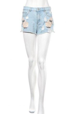 Γυναικείο κοντό παντελόνι Forever 21, Μέγεθος S, Χρώμα Μπλέ, Τιμή 5,85€