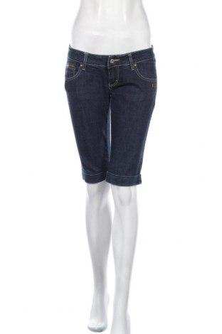 Γυναικείο κοντό παντελόνι Gang, Μέγεθος M, Χρώμα Μπλέ, 98% βαμβάκι, 2% ελαστάνη, Τιμή 9,55€