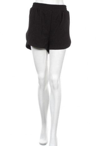 Γυναικείο κοντό παντελόνι H&M, Μέγεθος XL, Χρώμα Μαύρο, 94% πολυεστέρας, 6% ελαστάνη, Τιμή 4,32€