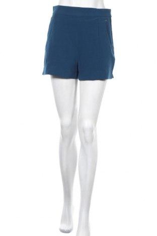 Γυναικείο κοντό παντελόνι H&M, Μέγεθος M, Χρώμα Μπλέ, 93% πολυεστέρας, 7% ελαστάνη, Τιμή 4,77€