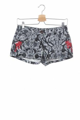 Γυναικείο κοντό παντελόνι H&M, Μέγεθος XS, Χρώμα Γκρί, 98% βαμβάκι, 2% ελαστάνη, Τιμή 9,35€