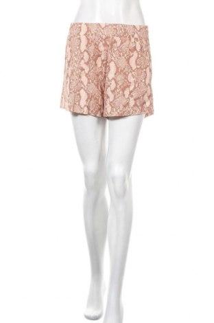Дамски къс панталон H&M L.O.G.G., Размер S, Цвят Многоцветен, 50% памук, 50% модал, Цена 27,93лв.