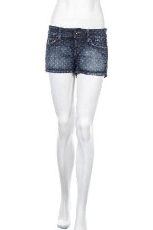 Γυναικείο κοντό παντελόνι H&M L.O.G.G., Μέγεθος M, Χρώμα Μπλέ, 99% βαμβάκι, 1% ελαστάνη, Τιμή 10,52€