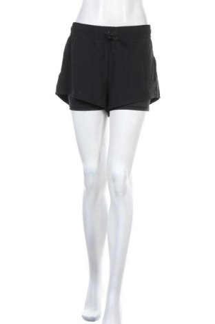 Γυναικείο κοντό παντελόνι H&M Sport, Μέγεθος L, Χρώμα Μαύρο, 86% πολυεστέρας, 14% ελαστάνη, Τιμή 11,11€