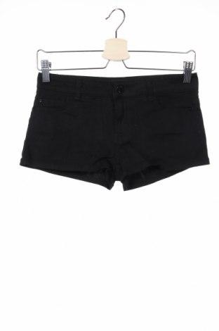 Γυναικείο κοντό παντελόνι Hydee by Chicoree, Μέγεθος XS, Χρώμα Μαύρο, 98% βαμβάκι, 2% ελαστάνη, Τιμή 5,71€