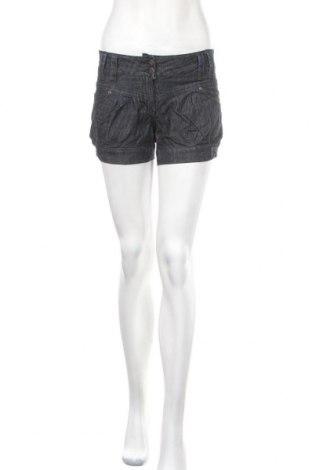Γυναικείο κοντό παντελόνι IX-O, Μέγεθος XS, Χρώμα Μπλέ, Βαμβάκι, Τιμή 6,82€