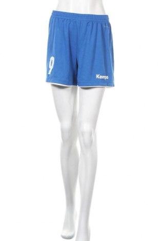 Γυναικείο κοντό παντελόνι Kempa, Μέγεθος L, Χρώμα Μπλέ, Πολυεστέρας, Τιμή 7,79€
