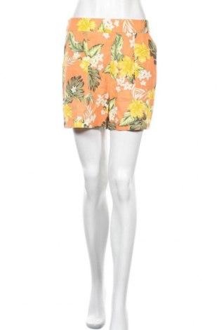 Γυναικείο κοντό παντελόνι Miss Selfridge, Μέγεθος M, Χρώμα Πορτοκαλί, 51% βισκόζη, 28% βαμβάκι, 21% λινό, Τιμή 11,38€