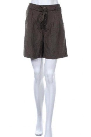 Γυναικείο κοντό παντελόνι ONLY, Μέγεθος M, Χρώμα Πράσινο, 50% βισκόζη, 40% βαμβάκι, 10% λινό, Τιμή 18,44€