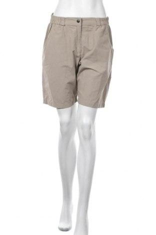 Дамски къс панталон Ock, Размер L, Цвят Бежов, 60% полиестер, 40% памук, Цена 11,34лв.
