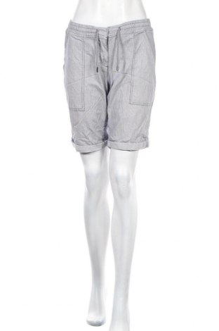 Γυναικείο κοντό παντελόνι Opus, Μέγεθος M, Χρώμα Γκρί, 97% βαμβάκι, 3% ελαστάνη, Τιμή 2,95€