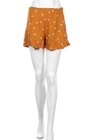 Γυναικείο κοντό παντελόνι Pimkie, Μέγεθος S, Χρώμα Καφέ, Βισκόζη, Τιμή 10,49€