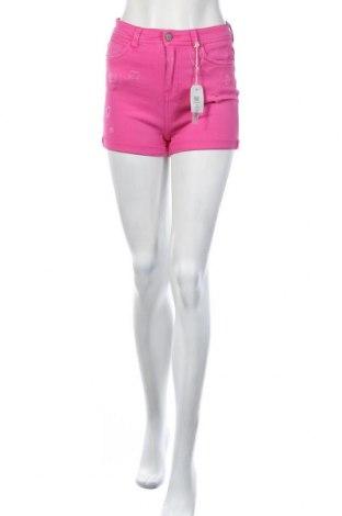 Γυναικείο κοντό παντελόνι Pink Woman, Μέγεθος M, Χρώμα Ρόζ , Βαμβάκι, Τιμή 8,25€