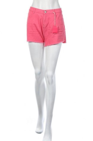 Γυναικείο κοντό παντελόνι Pink Woman, Μέγεθος M, Χρώμα Ρόζ , Βαμβάκι, Τιμή 10,83€