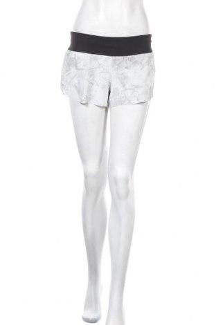 Γυναικείο κοντό παντελόνι Reebok, Μέγεθος L, Χρώμα Γκρί, 86% πολυεστέρας, 14% ελαστάνη, Τιμή 12,06€