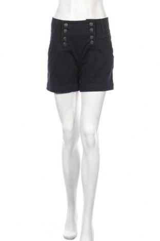 Γυναικείο κοντό παντελόνι Review, Μέγεθος S, Χρώμα Μπλέ, 99% βαμβάκι, 1% ελαστάνη, Τιμή 11,26€