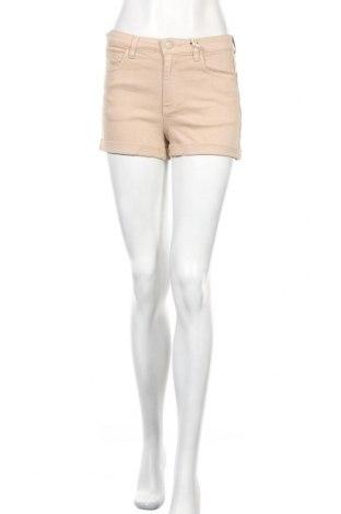 Γυναικείο κοντό παντελόνι Review, Μέγεθος S, Χρώμα  Μπέζ, 98% βαμβάκι, 2% ελαστάνη, Τιμή 16,12€