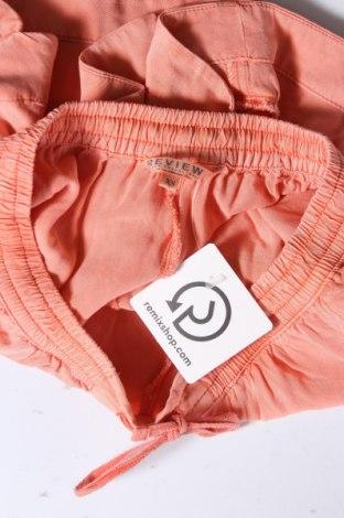 Γυναικείο κοντό παντελόνι Review, Μέγεθος XS, Χρώμα Πορτοκαλί, Βισκόζη, Τιμή 12,97€