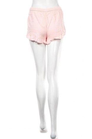 Γυναικείο κοντό παντελόνι Review, Μέγεθος S, Χρώμα Ρόζ , 80% βισκόζη, 20% λινό, Τιμή 14,67€