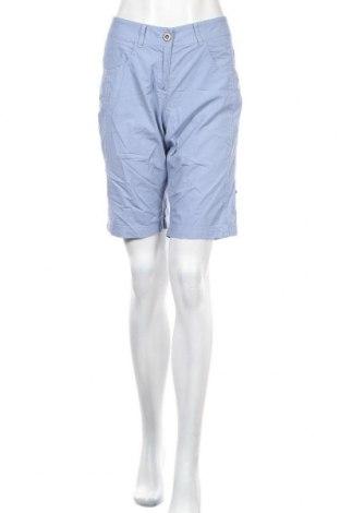 Γυναικείο κοντό παντελόνι S.Oliver, Μέγεθος M, Χρώμα Μπλέ, Βαμβάκι, Τιμή 11,43€