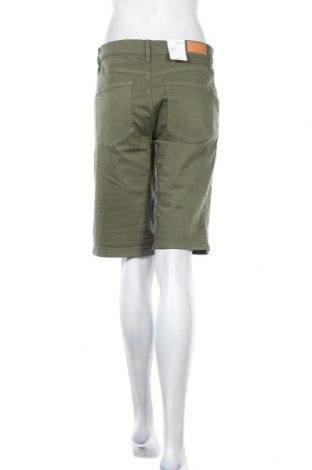 Γυναικείο κοντό παντελόνι S.Oliver, Μέγεθος M, Χρώμα Πράσινο, 50% βαμβάκι, 40% βισκόζη, 8% πολυεστέρας, 2% ελαστάνη, Τιμή 24,19€
