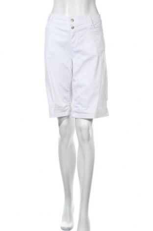 Γυναικείο κοντό παντελόνι S.Oliver, Μέγεθος XL, Χρώμα Λευκό, Τιμή 22,20€
