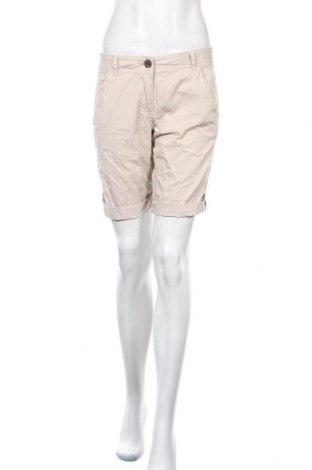Γυναικείο κοντό παντελόνι S.Oliver, Μέγεθος XS, Χρώμα  Μπέζ, Βαμβάκι, Τιμή 6,43€