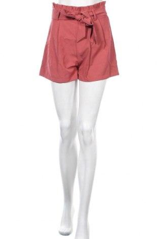 Γυναικείο κοντό παντελόνι SHEIN, Μέγεθος M, Χρώμα Ρόζ , 15% ελαστάνη, 85% πολυεστέρας, Τιμή 6,72€