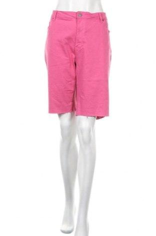 Дамски къс панталон Simply Be, Размер XXL, Цвят Розов, 80% памук, 17% вискоза, 3% еластан, Цена 20,16лв.