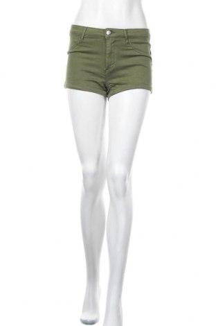 Дамски къс панталон Tally Weijl, Размер S, Цвят Зелен, Цена 8,51лв.
