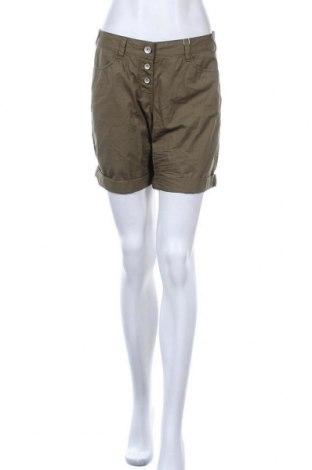 Γυναικείο κοντό παντελόνι Tom Tailor, Μέγεθος M, Χρώμα Πράσινο, Βαμβάκι, Τιμή 25,97€