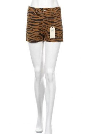 Дамски къс панталон Twintip, Размер S, Цвят Кафяв, Памук, Цена 31,50лв.