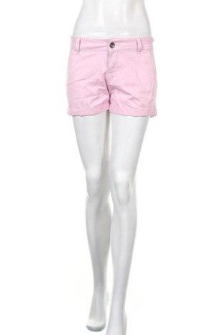 Γυναικείο κοντό παντελόνι United Colors Of Benetton, Μέγεθος XS, Χρώμα Ρόζ , 98% βαμβάκι, 2% ελαστάνη, Τιμή 7,79€